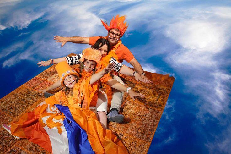 Jaaa gewonnen! Wie vliegt er met ons mee naar de finale op ons oranje patchwork tapijt ?
