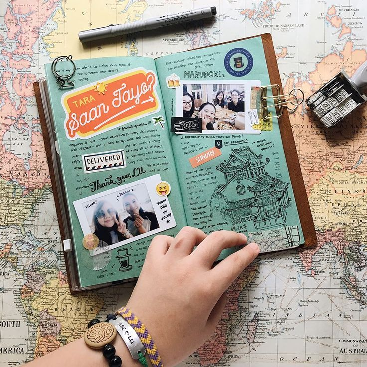 Travel journal ideas and inspiration. Techniques for ...