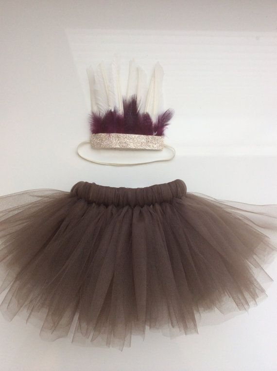 Baby Girl Indian Halloween Costume  Tutu and by WhimsyLittles, $28.00