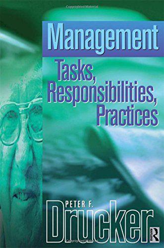 Management (Drucker Series) by Peter Drucker