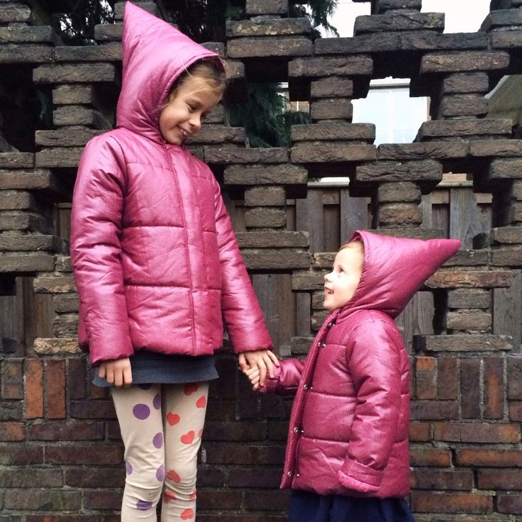 Cutest Pointy Puffy Coats From Ladida