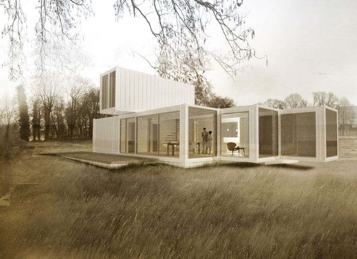 20ft container house buscar con google hus pinterest - Container haus architekt ...