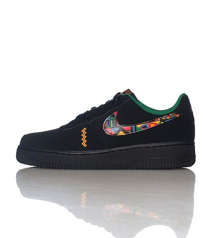 NIKE Air Force One Low top, Lace front sneaker Padded tongue with logo  Suede material