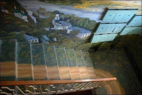 Лестница —  произведение искусства