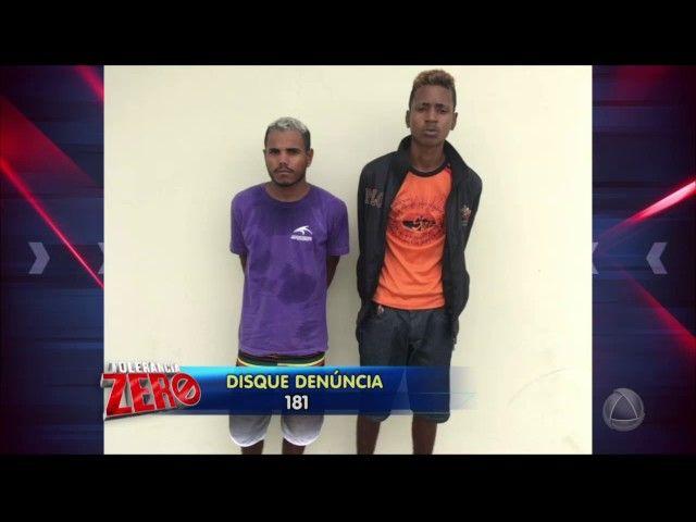 Dupla é presa acusada de tráfico em Simão Dias - Tolerância Zero