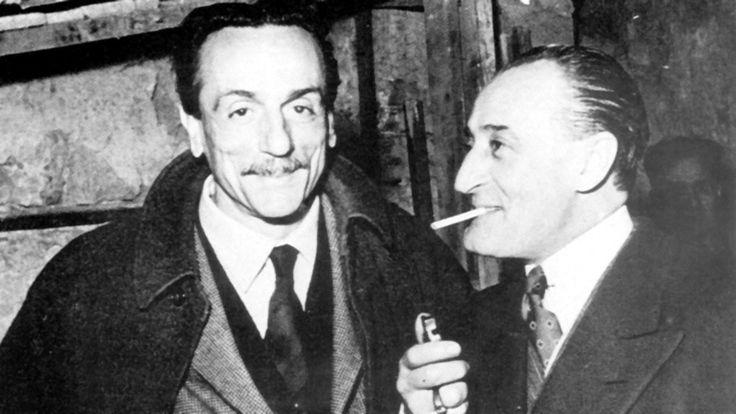 Eduardo De Filippo and Totò.