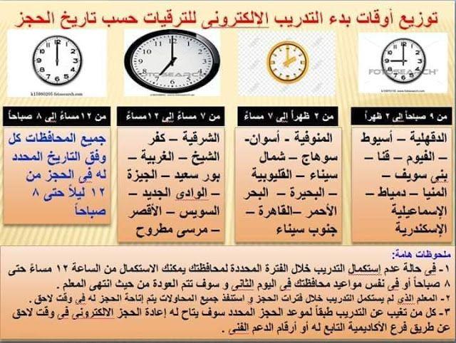 توزيع أوقات بدء التدريب الإلكتروني للمعلمين ترقيات نهضة مصر التعليمية Https Ift Tt 2uidq8k Https Ift Tt 3edqfy5 Blog Posts Blog Periodic Table