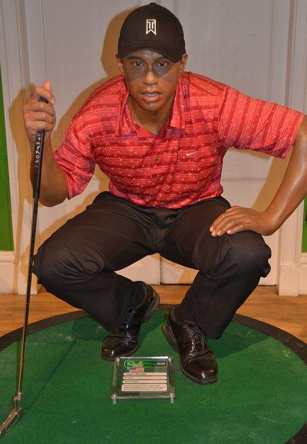 Madame Tussauds - London Tiger Woods