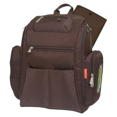 $33.99Reg:$39.99- Save $6.00  (15%)        				      					  						Fisher Price Fastfinder On The Go Backpack Diaper Bag - Brown  					  					  					  					  											       				  											  							       			  						       									       				  											  							       			  						       			  					 Free shipping when you spend $50