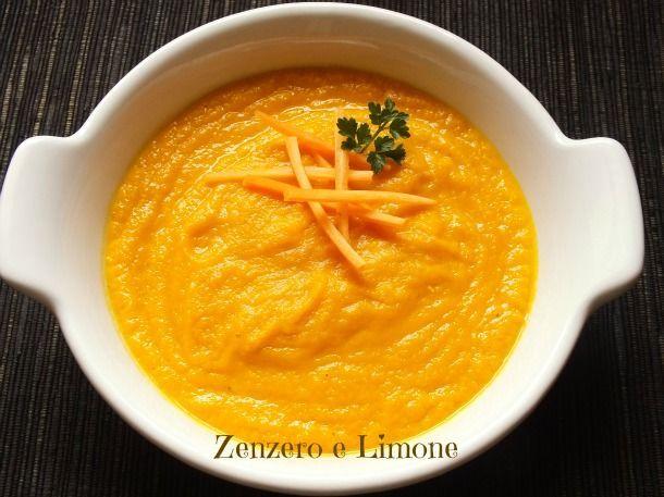 Vellutata+di+carote+e+zenzero