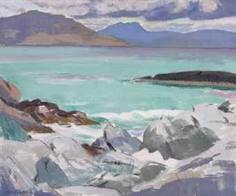 Francis Cadell - The Beach, Iona