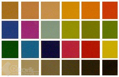 Die Farben DE-RU — немецкие слова на тему Цвета