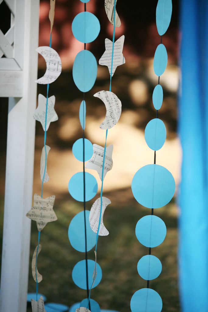 Our short agnostic stars and moon wedding