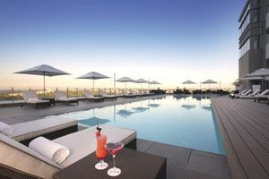 The pool deck - Radisson Blu Hotel Sandton. Qoute & Book http://www.south-african-hotels.com/hotels/radisson-blu-hotel-sandton-johannesburg/
