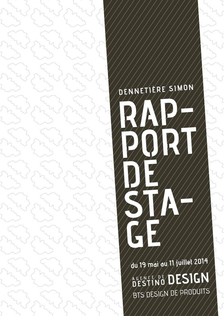 Häufig 25+ trending Rapport de stage ideas on Pinterest | Graphic  QN95