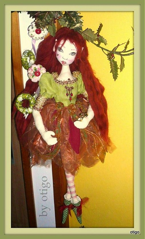 cloth doll / lesná víla/