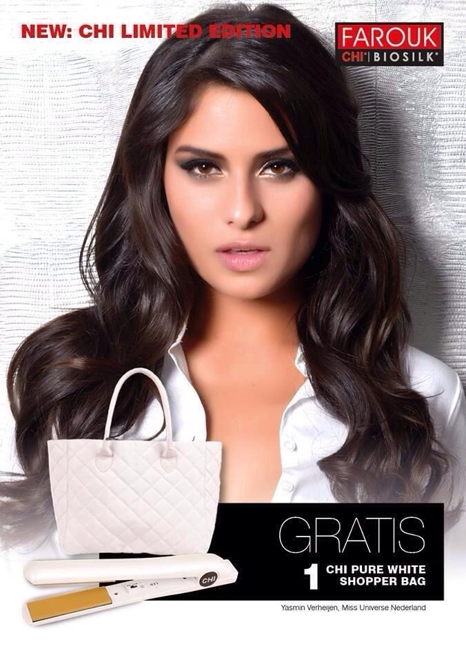 CHI Stijltang Limited Edition Pure White | CHI Stijltang | Lindseys.nl de online beautyshop