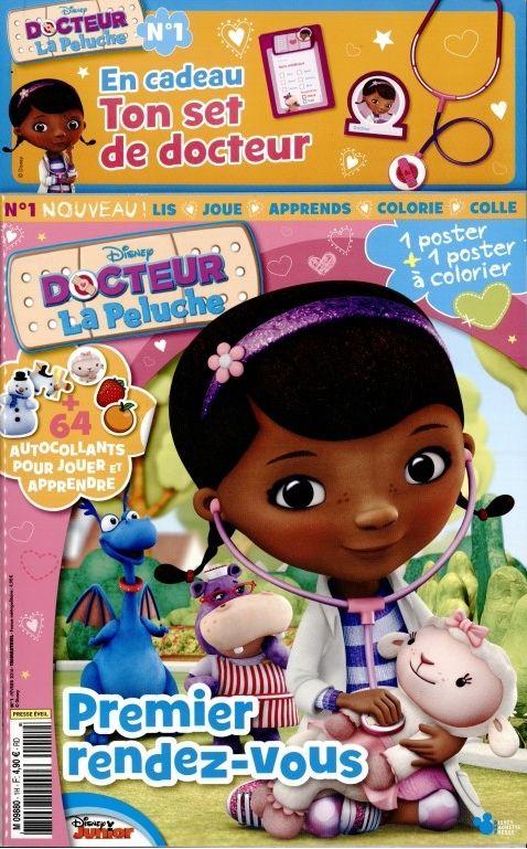 Docteur La Peluche. Trimestriel, 4.90€ le numéro. Ed : Disney Hachette Presse