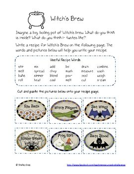 Get Your Students Writing with The Witches Lesson Plan Ideas