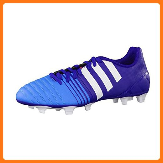 X 17.4 TF, Chaussures de Football Entrainement Homme, Blanc (Footwear White/Energy Blue/Clear Grey), 41 1/3 EUadidas