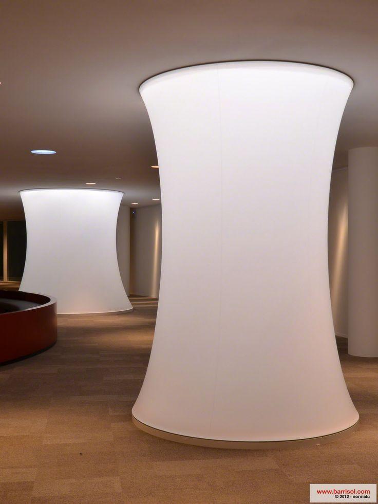 Light columns by Barrisol.com