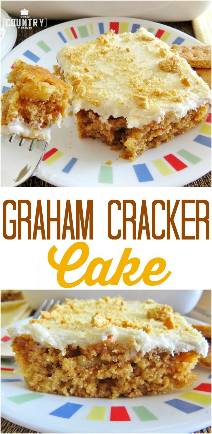 Homemade Graham Cracker Cake recipe from The Country Cook