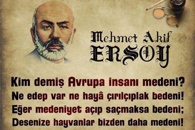 #MehmetAkifErsoy
