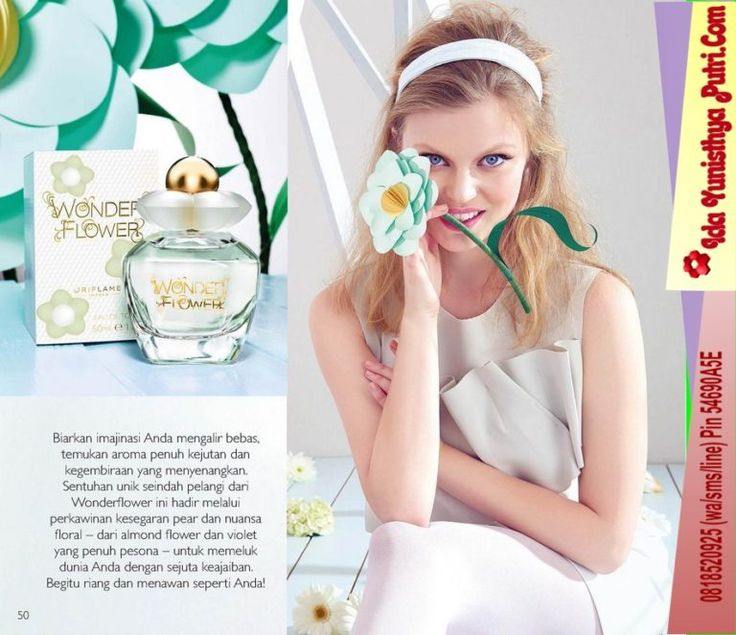 Katalog Oriflame Mei 2017 Promo Online Koleksi Parfum Baru  Wonderflower Eau de Toilette
