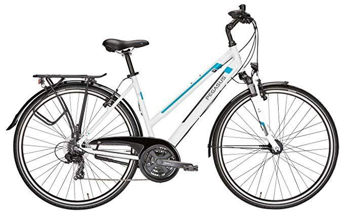 Damen Fahrrad 28 Zoll Weiss Pegasus Piazza Citybike Shimano