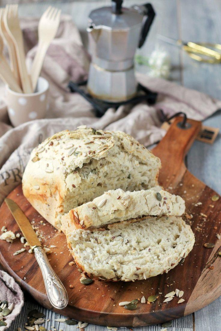 Pane ai semi misti (con lievito madre)