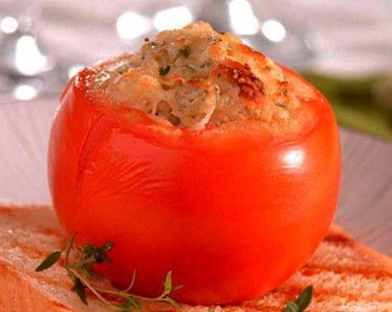 Receita de Tomates recheados com cogumelos Paris - http://www.receitasja.com/receita-de-tomates-recheados-com-cogumelos-paris/