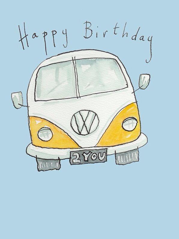 Happy Birthday VW Bus