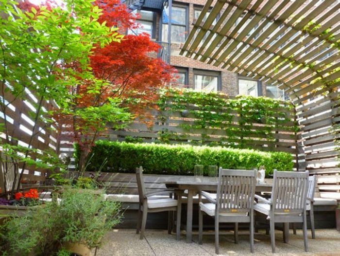 die besten 17 ideen zu terrassensichtschutz auf pinterest. Black Bedroom Furniture Sets. Home Design Ideas