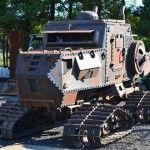 Steampunk Zombie Apocalypse Survival Vehicle