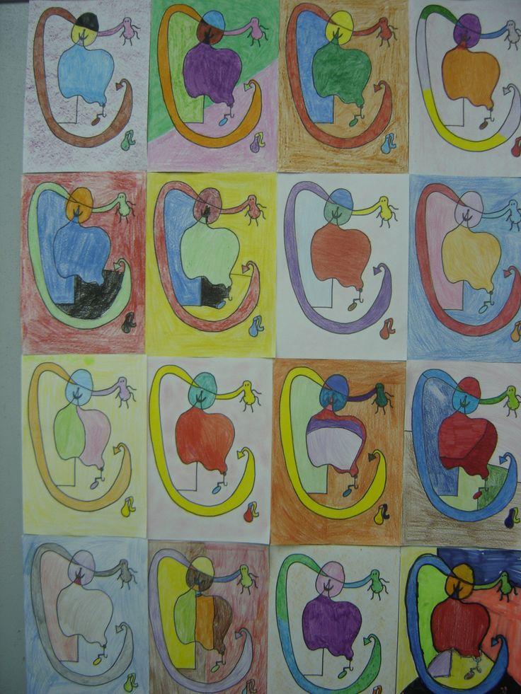 Mosaic Miró