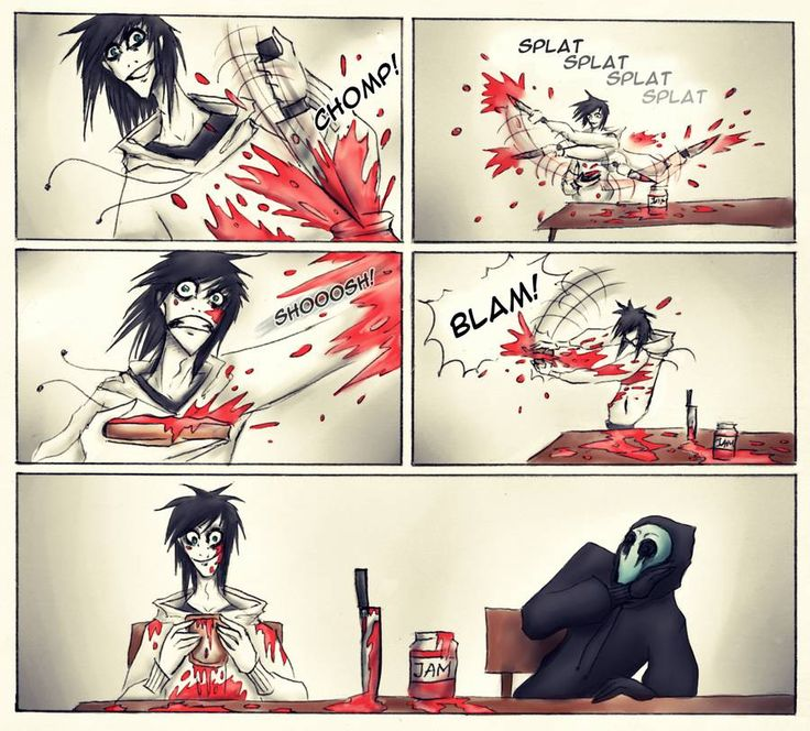 creepypasta info | Creepypasta breakfast, Jeff loves strawberry jam ;D