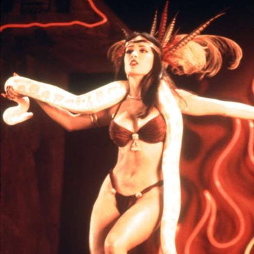 Salma Hayek in From Dusk Till Dawn, 1996