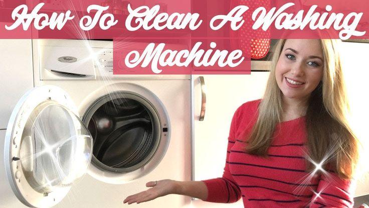 HOW TO CLEAN A WASHING MACHINE - CLEAN WASHING MACHINE DRAWER - YouTube