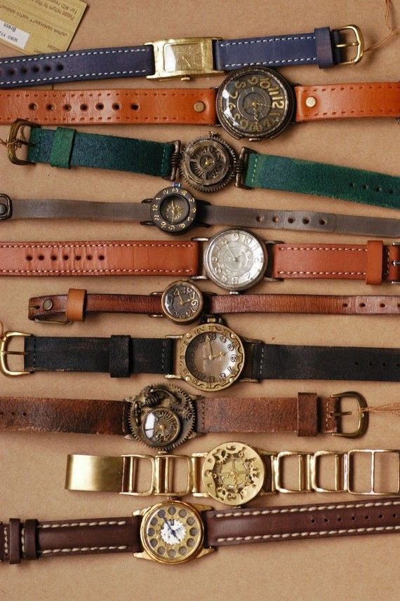"""I developed a passion for watches a long time ago, have quite a collection, and some day I want to do a shadow box with all of them, with a title of """"madetyme4"""", which has special meaning to me."""