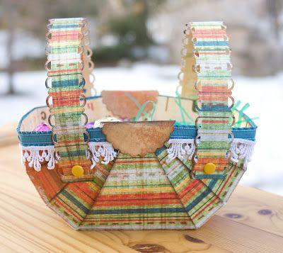 Le style Magenta: Panier de Paques / Easter Baskets