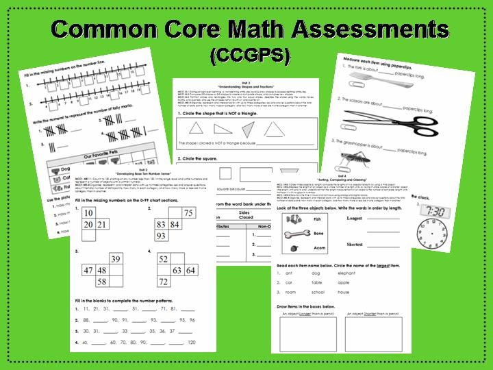 Simply SWEET TEAching: Common Core Math Assessments - Possible first week of 2nd grade work?