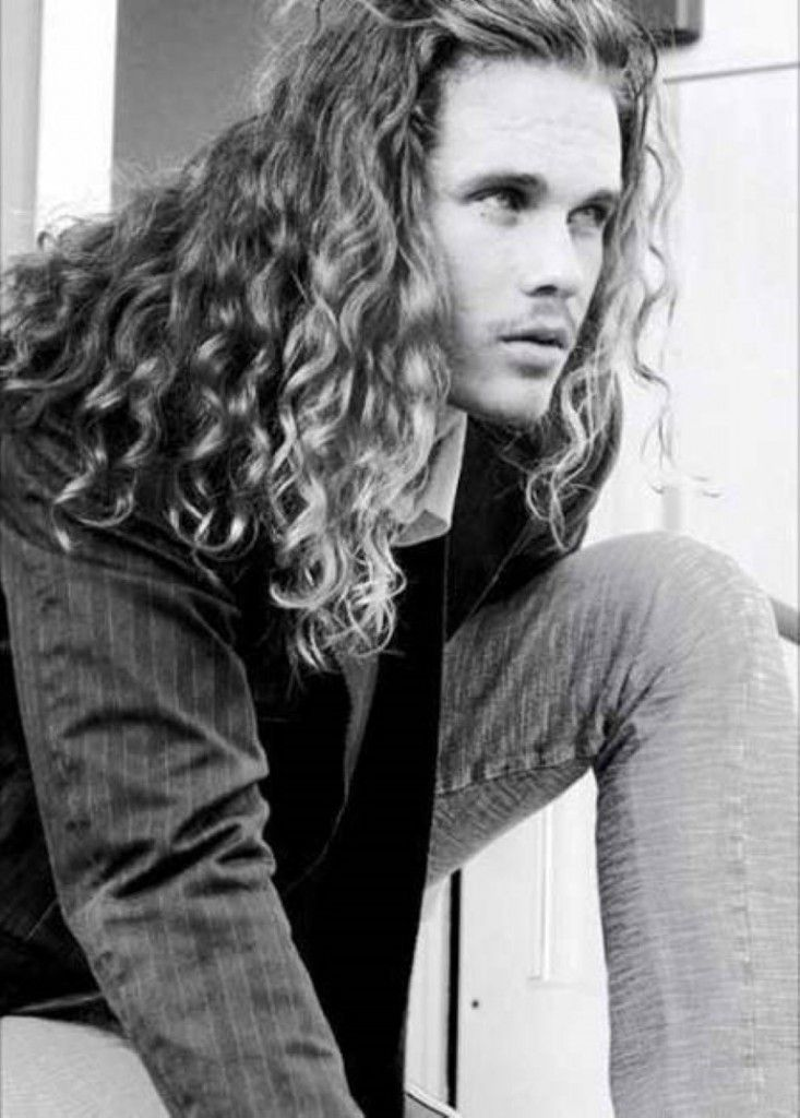 Best Hairstyles , Good Long Haircuts for Men 2014 : The Iconic Long Curly And Wavy Hairstyle