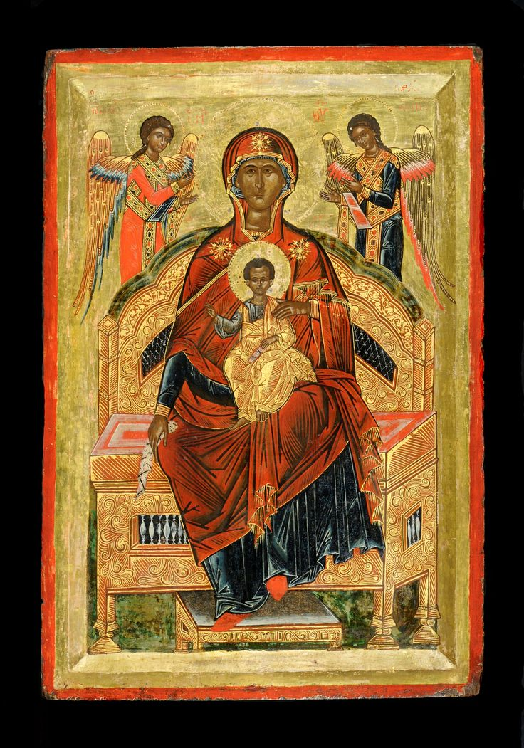 Mother of God Enthroned - - Icons
