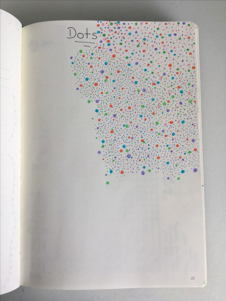 Dots page continued.