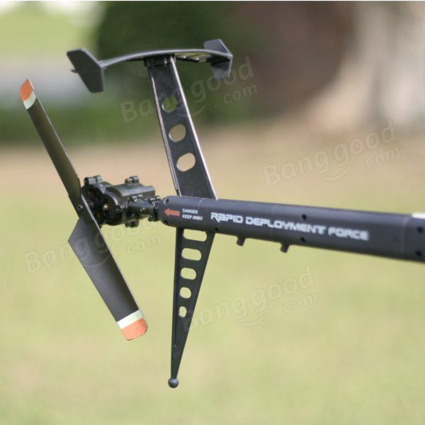 FX070C 2.4G 4CH 6-Axis Gyro Flybarless MD500 Scale RC Helicopter - US$96.99