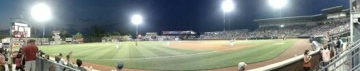 Chattanooga Lookouts vs Jackson Generals. AT Field. #milb