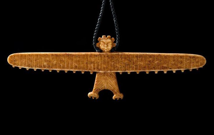 Hei Manu Koiwi • Bone Kite Pendant by Stacy Gordine
