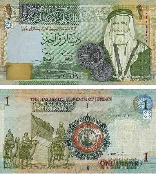 1 Jordan Dinar