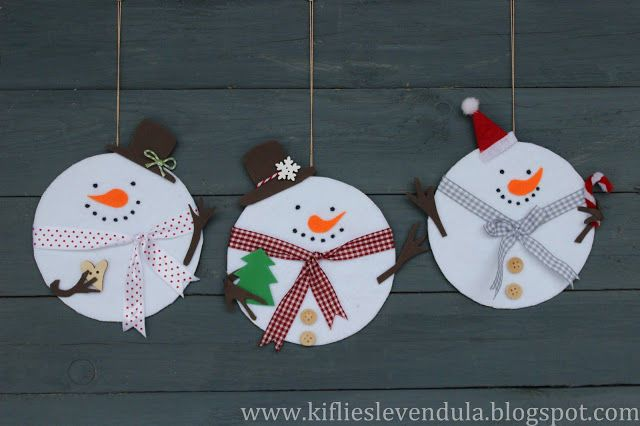 35 snow (o) man kids craft - 101ideer.se