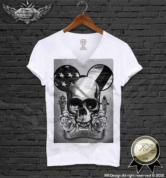 Unique designer Men's t-shirt Modern mickey skull swag dope music fun Festival funny cool tank top vest S, M, L XL Author's design MD321